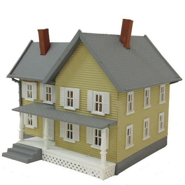 N Scale Jackson's House