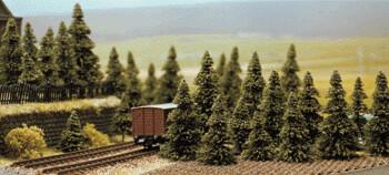 Pine / Fir Tree Set - 60 pcs 3-6cm