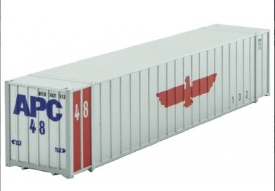 N Scale 48' Rib Side Container #APC #481713