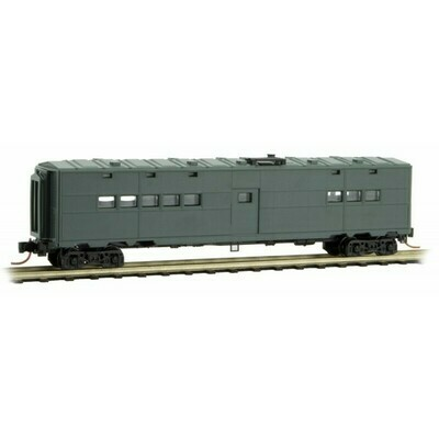 N Scale 50' Troop Kitchen car - Undecorated