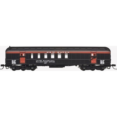 N Scale Trainman 60' RPO New Haven #3277