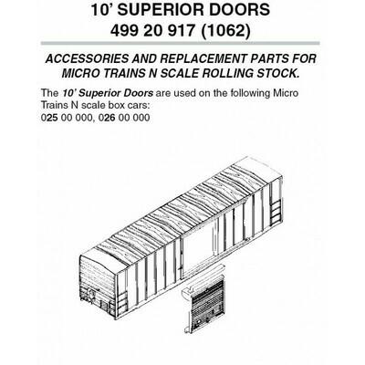 'N' 10' Superior Door (10 pk)