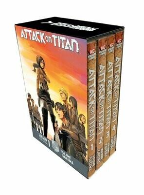 Attack On Titan Manga Box Set