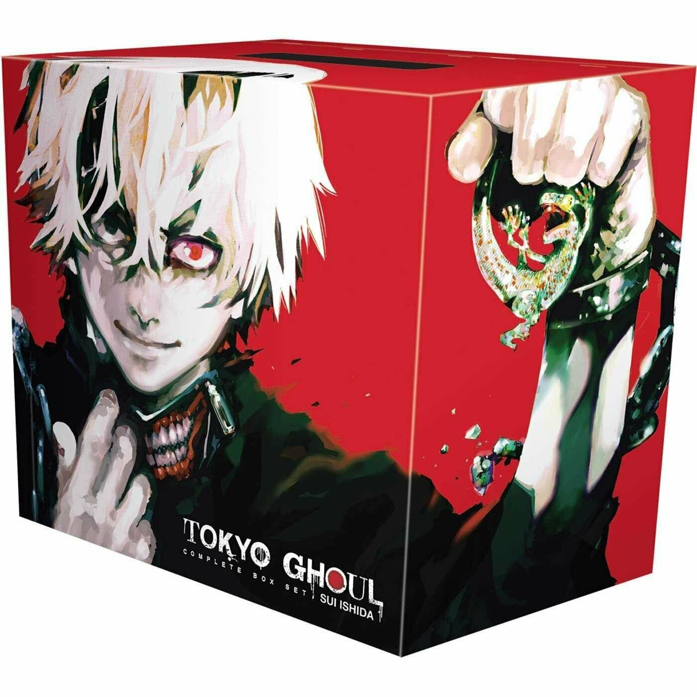 Tokyo Ghoul Complete Box Set (Vol. 1-14)