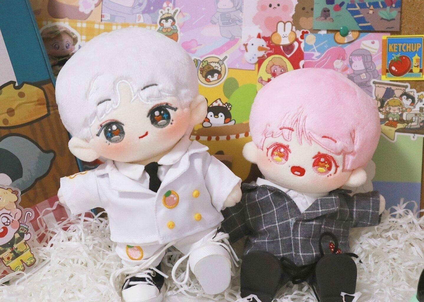 20 cm ChanBaek Dolls