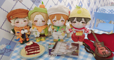 20 cm Given Dolls by @natsuki_given