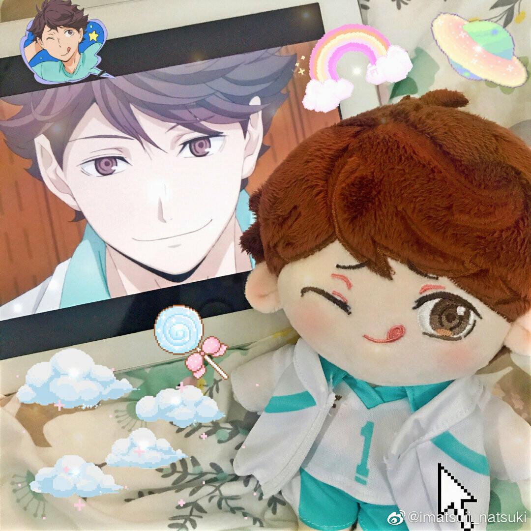 20 cm Toru Oikawa Doll by @natsuki_given