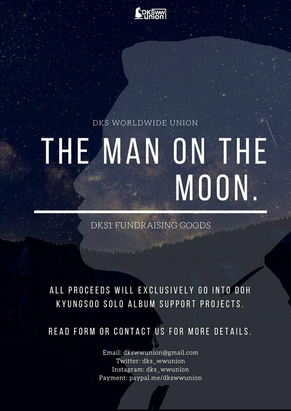 [PRE-ORDER] The Man On The Moon 🌙 — DKS1 Fundraising Goods by @dks_wwunion