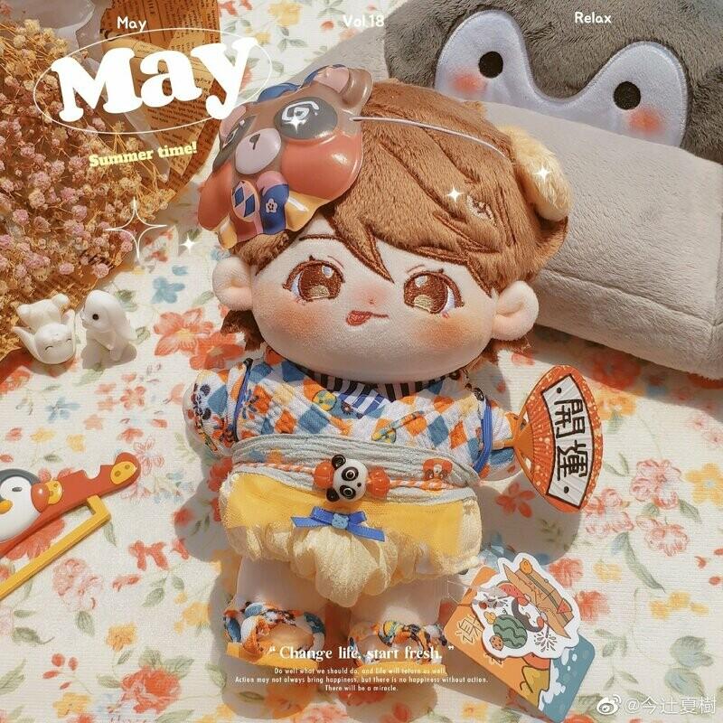 20 cm Puppy Oikawa Doll by @natsuki_given