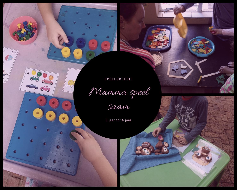 Mamma vriendelike speelgroepie