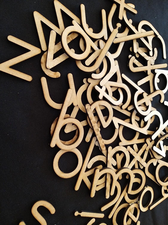 Hout alfabet