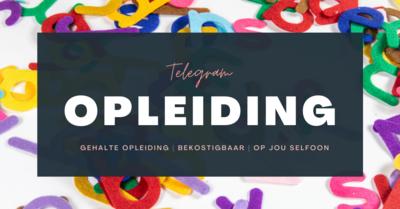 Telegram opleiding groepe