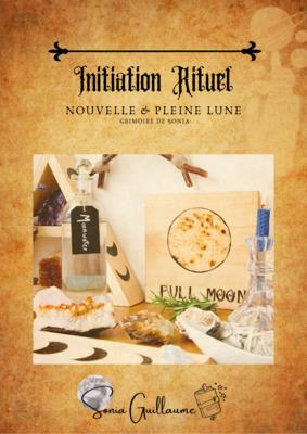 Initiation rituel Lunaire & Lettre à la lune