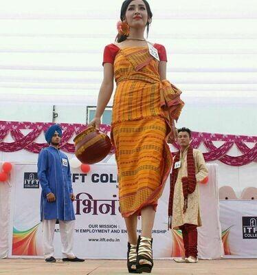 Bodo Women Dress Dokhona.