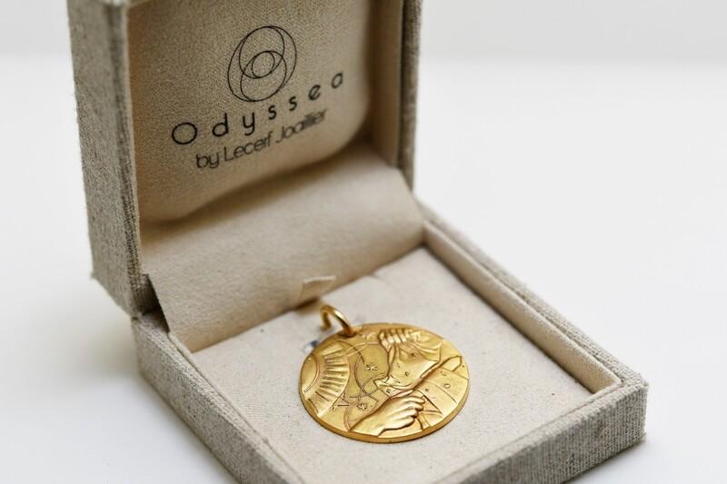 Médaille du partage Or jaune 18 carats