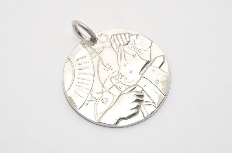 Médaille du partage Argent massif