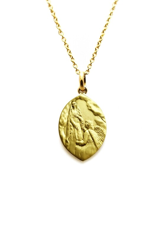 Médaille des Familles en Or jaune 18 carats