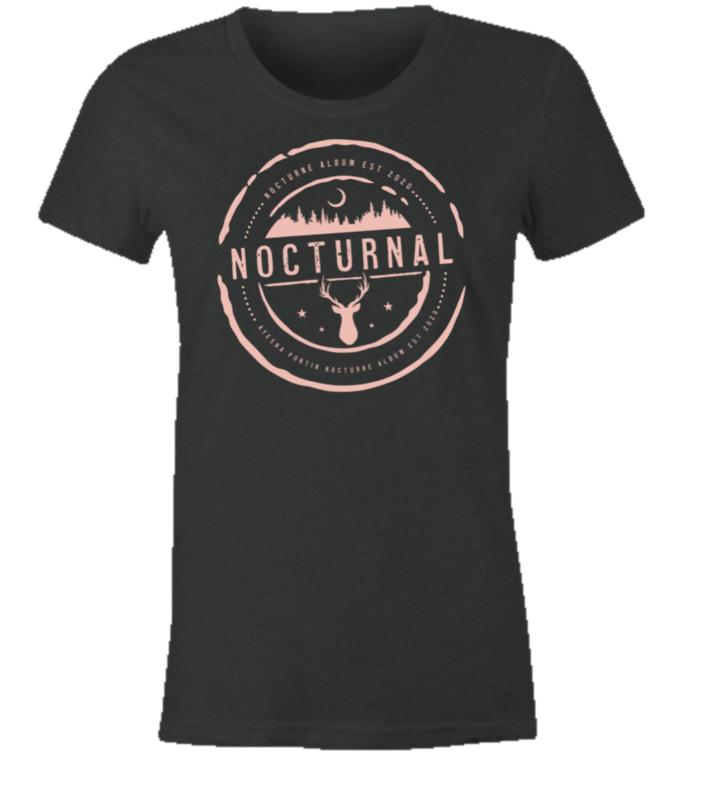 NOCTURNE Album Official Merch: Women's Soft Style Tee Shirt XXL