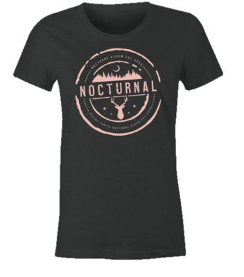NOCTURNE Album Official Merch: Women's Soft Style Tee Shirt L