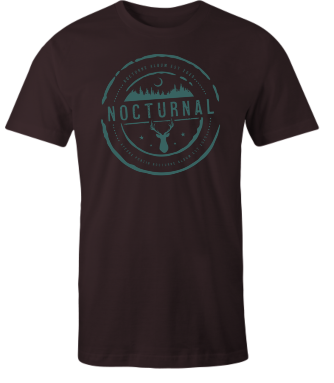 NOCTURNE Album Official Merch: Mens Soft Style Tee Shirt XXL