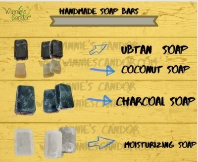 Natural Handmade Soaps (Pack of 4)