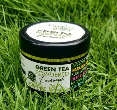 Winnie's Candor Green Tea Powdered Facewash Trial Pack