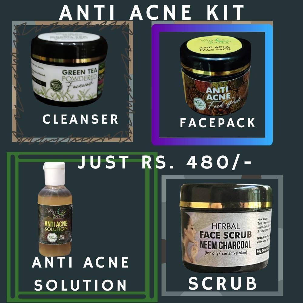Winnie's Candor Anti Acne Kit or Anti Acne Facial Kit