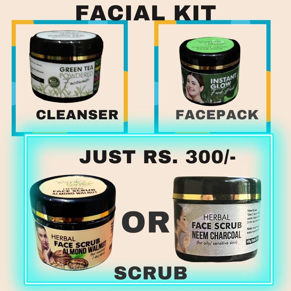 Winnie's Candor Facial Kit for all skin types