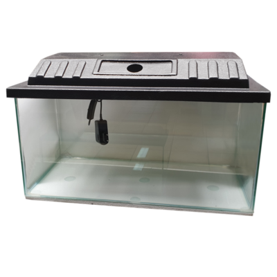 Aquarium / Tank With Canopy and LED Light