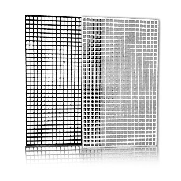 Black Egg Crate 15cm x 30cm