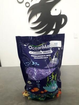 Purple Aquarium Gravel (1kg)