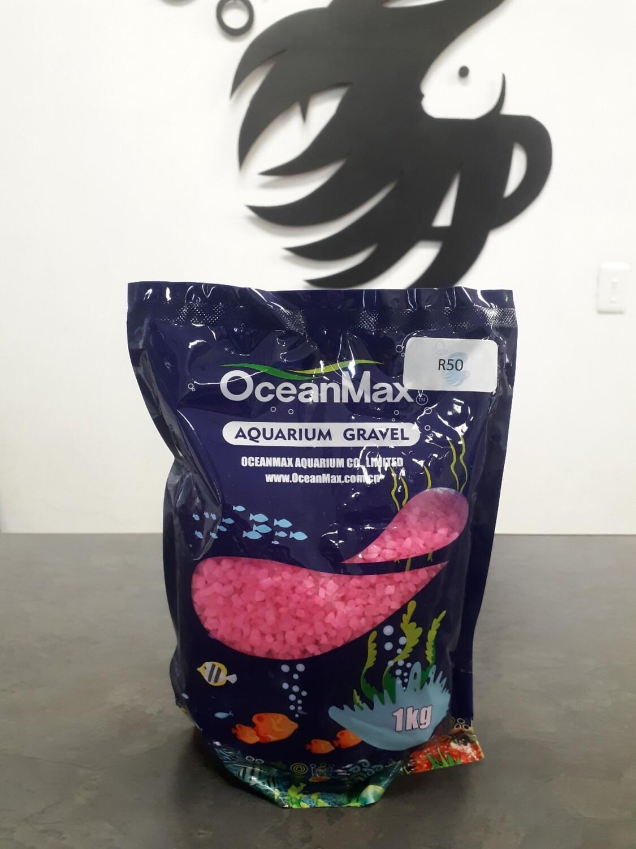 Pink Aquarium Gravel (1kg)