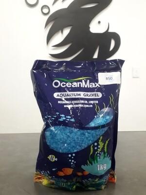 Light Blue Aquarium Gravel (1kg)