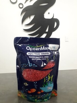 Red Aquarium Gravel (1kg)