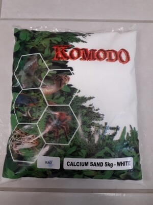 White Calcium Sand (5kg)