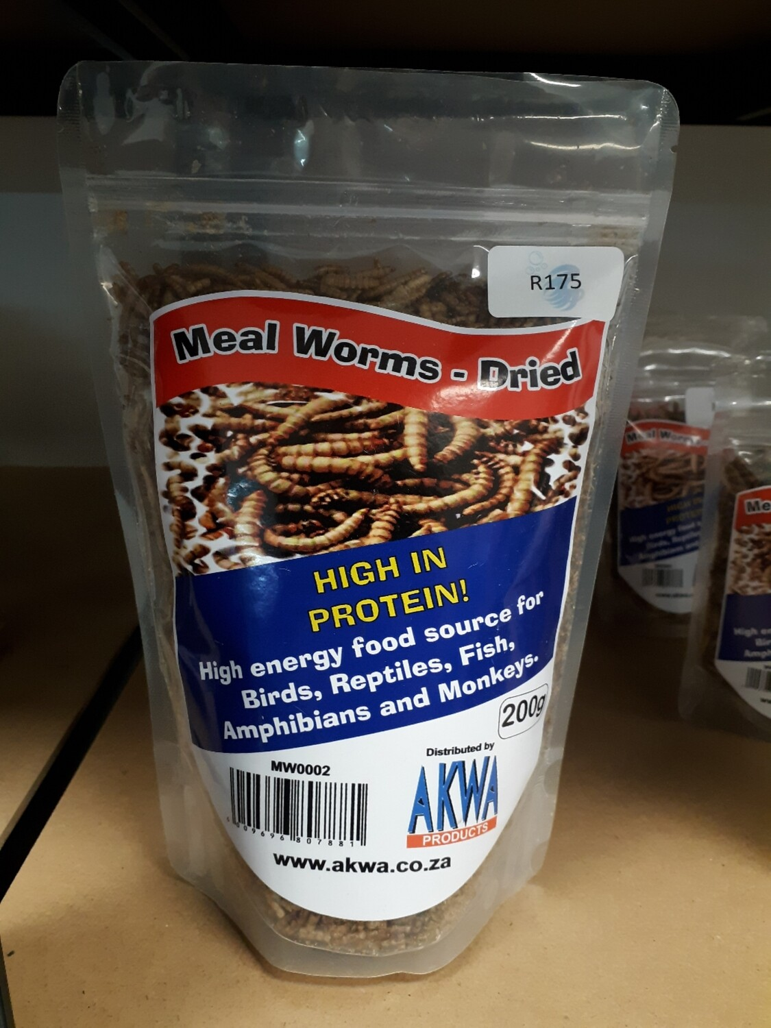 Dried Meal Worms (200g)