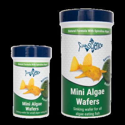 FishScience Mini Algae Wafers