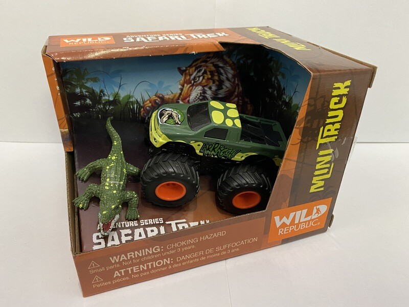 Safari Truck w/Alligator