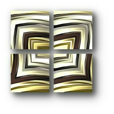 CONJUNTO CUADROS (30x30)x4