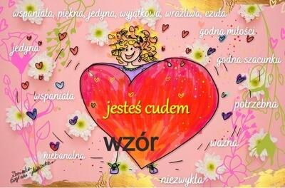 JESTEŚ CUDEM / RÓŻOWY