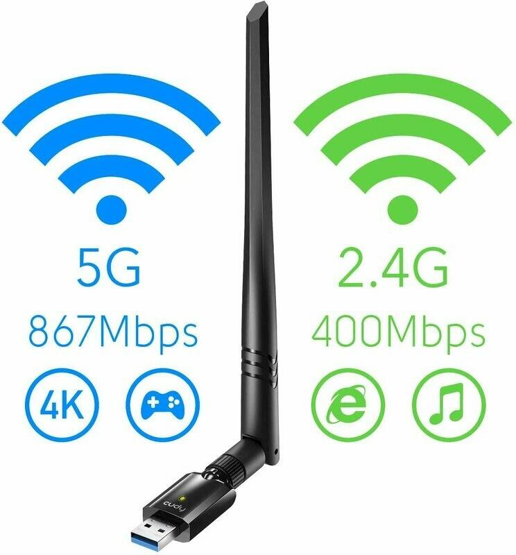 USB AC1300 Dual Band Wi-Fi Adapter