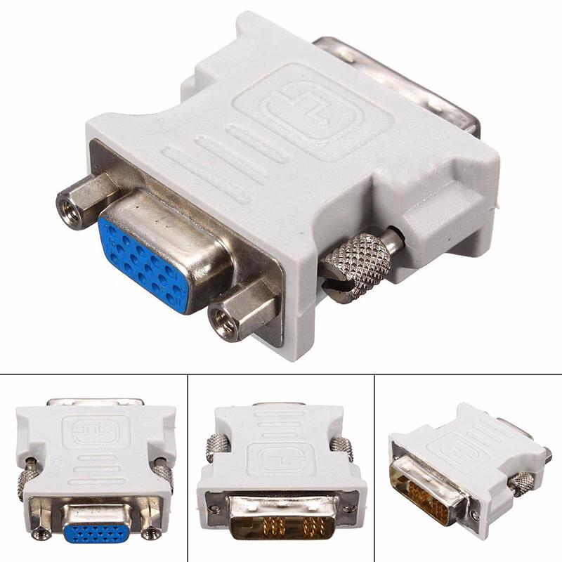 DVI-D (Male) to VGA (Female) Display Adapter