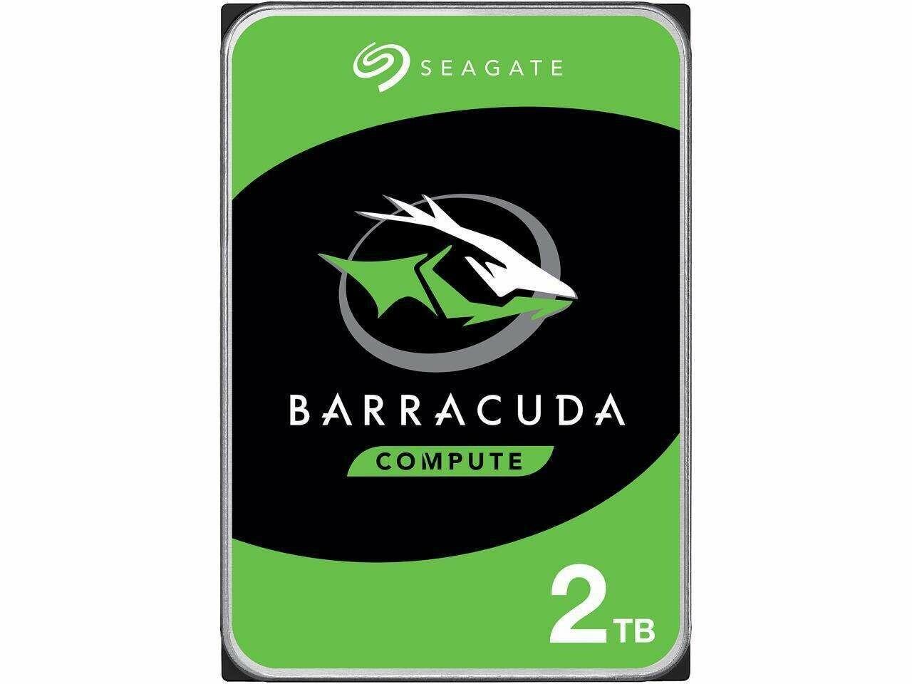 "Seagate BarraCuda ST2000DM008 2TB 7200 RPM 256MB Cache SATA 6.0Gb/s 3.5"" Hard Drive"