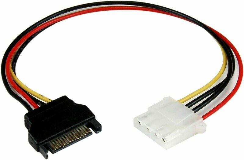SATA to Molex Power Adapter