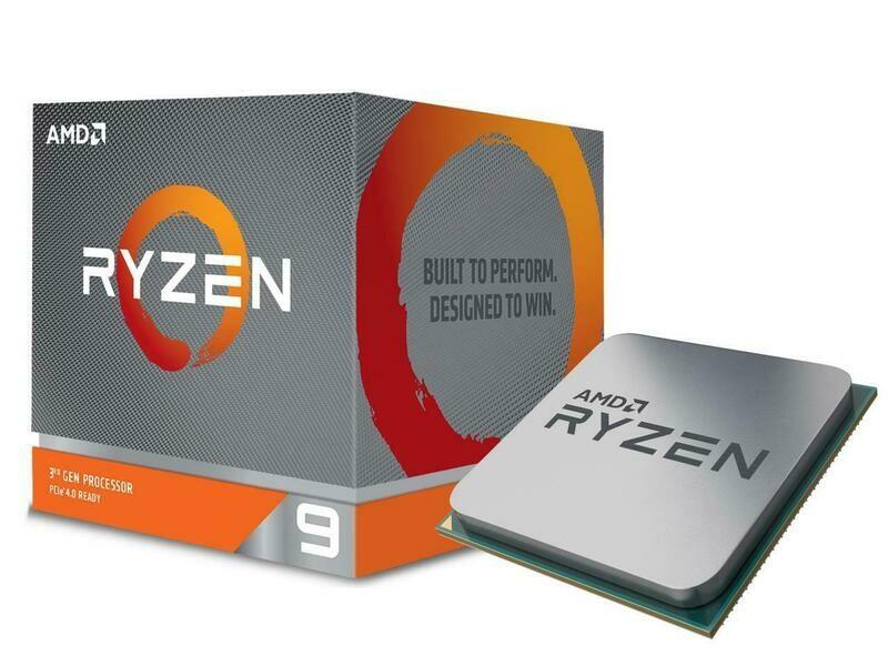 AMD Ryzen 9 3900X 12-Core 3.8 GHz (4.6 GHz Max Boost) CPU Socket AM4 105W 100-100000023BOX Desktop Processor - REFURBISHED