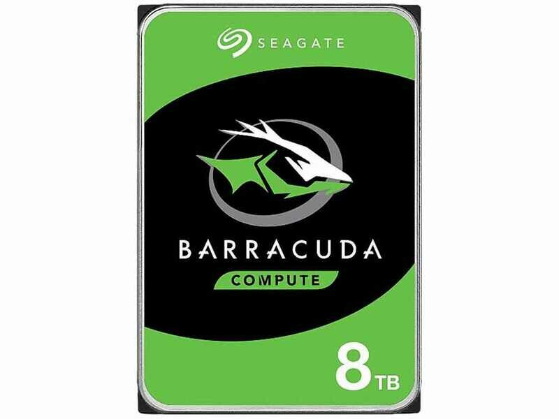 Seagate BarraCuda ST8000DM004 8TB 5400 RPM 256MB Cache SATA 6.0Gb/s 3.5