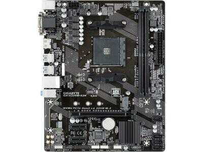 GIGABYTE GA-A320M-S2H AM4 AMD A320 SATA 6Gb/s USB 3.1 HDMI Micro ATX AMD Motherboard - Used, good condition