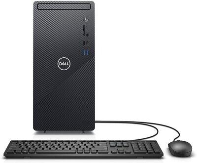 Dell Inspiron 3880 Desktop Computer - Intel Celeron G5905 / 8GB DDR4 / 256GB NVMe Solid State Drive, Windows 10 Home *REFURBISHED*