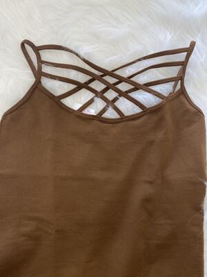 Brown Lattice Cam Sm/med