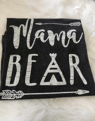 Mama Bear Tee-2x